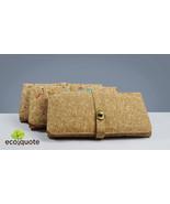 EcoQuote Eco-Friendly Elegance Evening Sling Clutch Handmade Cork Material  - $48.00