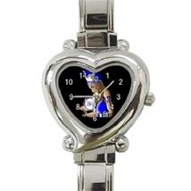 Ladies Heart Italian Charm Watch Zeta Phi Beta Gift model 37625524 - $11.99