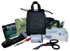 ELITE FIRST AID Patrol Trauma Kit LVL 2 STOCKED Tactical First Responder... - $121.43