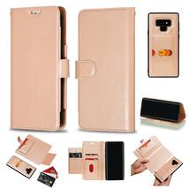 k2) Leather Wallet Flip Back Cover Case For For Samsung Galaxy Models - $52.32