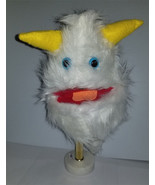 "B11 * Professional White ""Furgremlin"" w/Horns Muppet Style Ventriloquist... - $15.00"