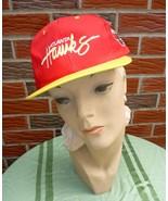 Vintage 1990s Atlanta Hawks Hat #2 Adjustable Unisex New w/Official NBA Tag - $22.75