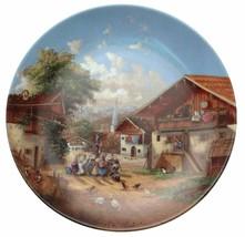 Waschtag am Dorfbrunnen Christian Luckel Idyllisches Dorfleben Village L... - $31.99
