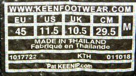 Keen Targhee EXP Low Top Size: US 11.5 M (D) EU 45 Men's WP Hiking Shoes 1017722 image 6