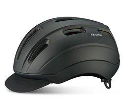 """OGK BC-VIA Bike Helmet Skateboard helmet Matte Black (M(22.8"""" to 23.6""""))"""