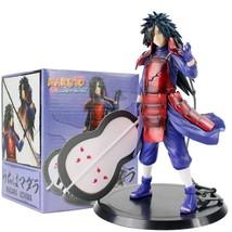 17cm Naruto Shippuden Uchiha Madara PVC Action Figure Toys Cool Weapon F... - $32.67