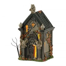 Department 56  Halloween Snow Village Haunted Basement  Miniature house F33 - £305.37 GBP