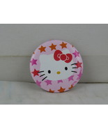 Retro Fashion Pin - Hello Kitty Superstar Background - Celluloid Pin  - $15.00