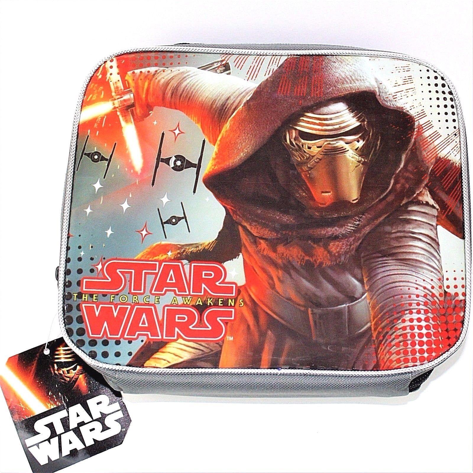 Disney Star Wars The Force Awakens Kylo Ren Ben Solo Insulated Lunch Bag