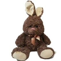 Inter-American Products Plush Brown Bunny Rabbit Stuffed Animal Easter - $14.52