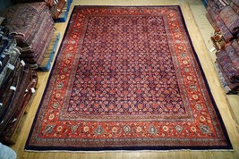 Herati Bakhshaish Weavers Delicate Rug Hand Knotted 10' x 14' All-Over P... - $1,548.30