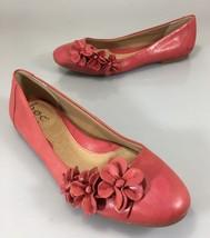 B.O.C. Born Shailene Womens 7.5 Dark Pink Leather Slip-on Flats Shoes w ... - $37.73