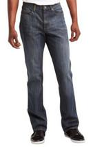 Kenneth Cole Reaction Men's Jeans Denim Blue Straight Leg Tinted 30W x 32W - $32.31