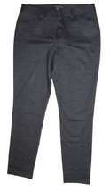 Andrew Marc Women's Ponte Stretch Pants, Black/Charcoal, Size 6 - $14.95