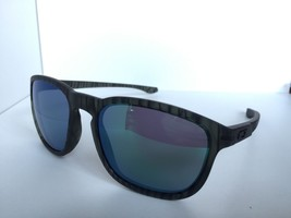 Oakley ENDURO OO9223-28 Striped Transparent frame Green lenses Men's Sunglasses - $125.99