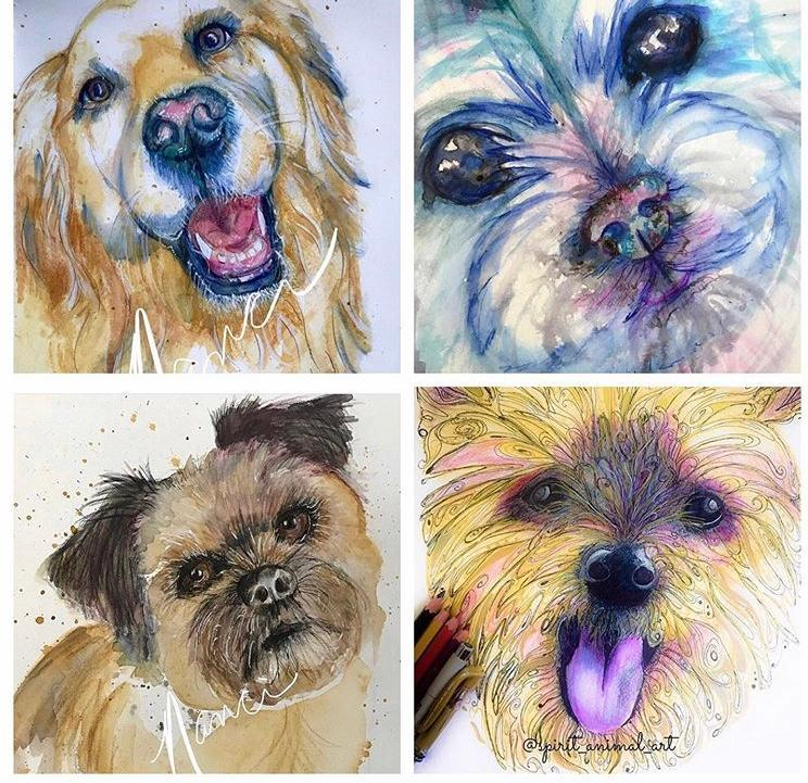 Primary image for Pet Portraits by Nanci -  Give the gift that will last furever and forever