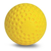 Jugs Yellow Dimpled Baseballs, 9-Inch, One Dozen - $36.71