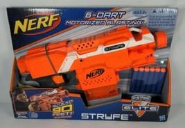 Nerf Stryfe Orange Motorized Dart Blaster Hasbro 2014 - C-022G Retired N-Strike - $95.00