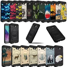For J7 Sky Pro / J7 Perx / J7V, Premium Tough Shockproof Dual Layer Case - $4.94+
