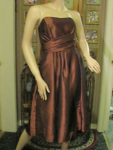 Lovely Cinnamon Brown Dress by Dessy Collection size 12 - $27.76