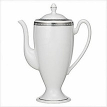 COFFE BEVERAGE POT -SUGAR -COVERED CREAMER WATERFORD CHINA PAVIA NEW-FRE... - $257.40
