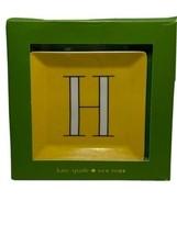 "Kate Spade New York It's Personal Jewelry Tray ""H"" NIB E1 - $33.65"