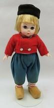 Vintage Madame Alexander Miniature Showcase Netherlands Boy Doll & Stand - $20.00