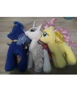 My Little Pony Build A Bear lot 3 Princess Celestia Princess Luna Flutte... - $39.59