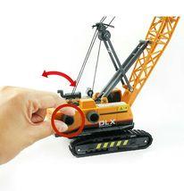 Bandi Toys Construction Heavy Equipment Vehicle Car Crane Dump Truck Toy Set image 7
