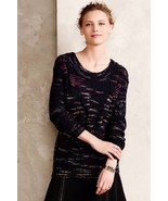 NWT TRACY REESE SPACEDYE CABLED PULLOVER S - $149.35