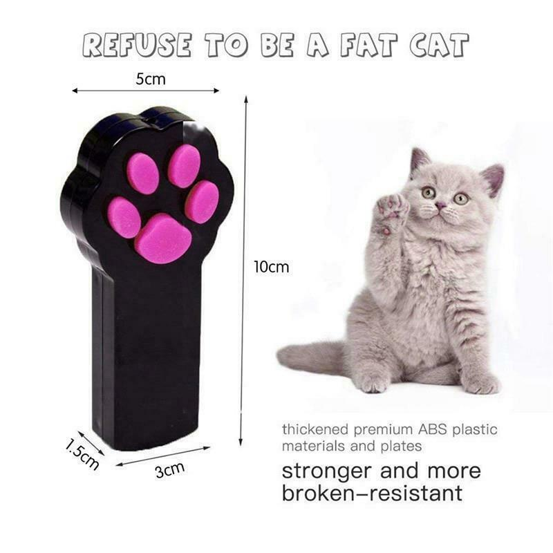 Cat Toys LED Laser Pointer Interactive Playing Training Supplies Pet Accessories image 9