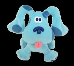 "6"" EDEN BLUES CLUES NICK JR VIACOM STUFFED ANIMAL PLUSH TOY BLUE PUPPY D... - $36.47"