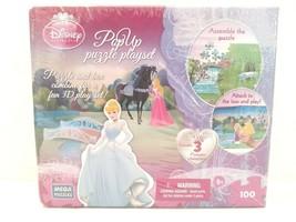 Disney Princess 3D Pop Up Castle 100 Pc Puzzle Playset Family Fun Kid Gi... - $19.79