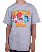 Neff Versus Deadmau5 Game Athletic Heather Grey or Black Sucker Face T-Shirt NWT image 2