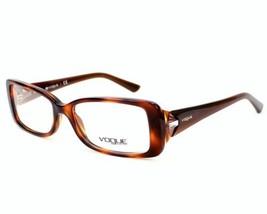 Authentic Vogue Eyeglasses VO2807B 1553 Light Havana Frames 51MM RX-ABLE - $44.54