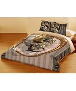 Wild Star Home Steampunk Dragon Duvet & Pillows Case Covers Set for Quee... - $100.93