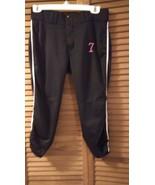 youth Girls SPORT Pants size WAIST 30 INSEAM 22 BY Champion Black #7 medium - $5.95
