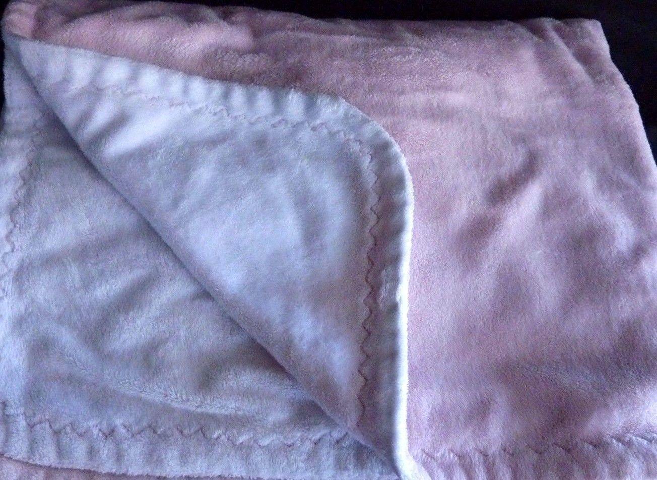 NWT Pottery Barn Kids Chamois solid ivory stroller baby blanket crib