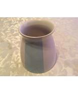 July 4th Edible Arrangements vase striped daisy ceramic blue 4.5 x 4.5 x... - $9.49