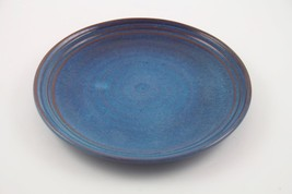"Rackliffe Blue Hill Pottery 10"" Dinner Plate Blue Hill, ME - $17.75"