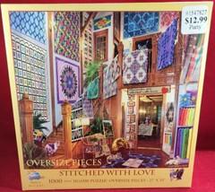 Stitched with love 1000 piece jigsaw puzzle (nib)Brand new sealed 1000 piece  - $17.46