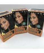 (3) Clairol Natural Instincts Hair Color 3.5 Ebony Mocha Brown Black Amm... - $23.74