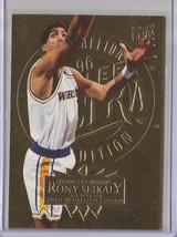 1995-96 Fleer Ultra Gold Medallion Rony Seikaly #63 Basketball Card - $3.75