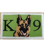 K9 German Shepherd Dog K-9 Iron-On Patch Sew Morale Tactical Version #1 - $10.86