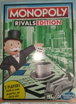 Monopoly Rivals Edition | 2 Player Game | Hasbro Gaming | Brand New Sealed - $23.32