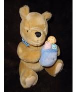 Gund Disney Classic Pooh Bear Easter Egg Hunny Pot Plush Stuffed Animal - $10.86