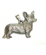 Cardigan Welsh Corgi Pendant Dog Harris Fine Pewter Made in USA jewelry - $10.99