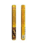 HEM Palo Santo Incense Sticks Agarbatti Masala - Pack of 20 Sticks Tube,... - $6.31