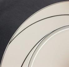 Block White Pearl Dinner Plates Spal Jewels Black Swirls Jack Prince Portugal image 2