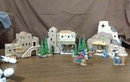Dept 56 1987 HOLY LAND LITTLE TOWN OF BETHLEHEM Nativity 12 Piece Set #5... - $89.95